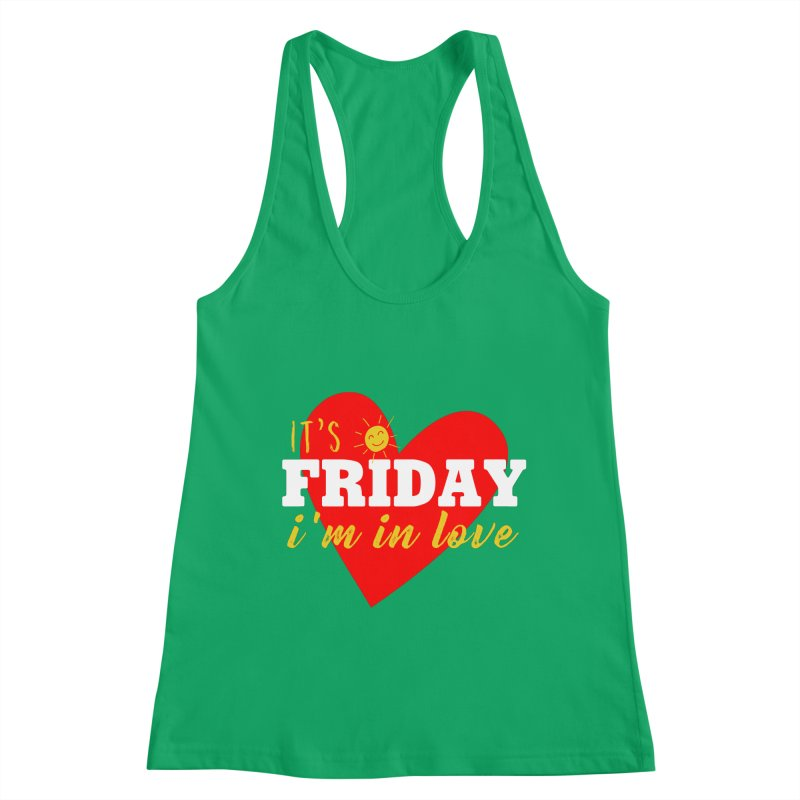 It's Friday, I'm in Love Women's Tank by Victory Screech Labs