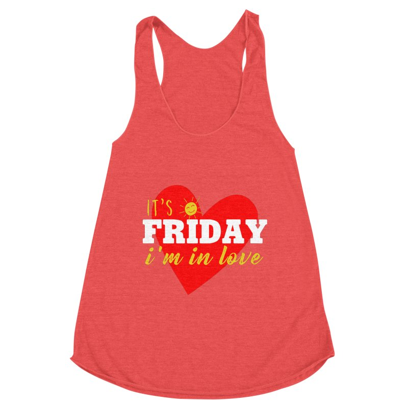 It's Friday, I'm in Love Women's Tank by Victory Screech Labs