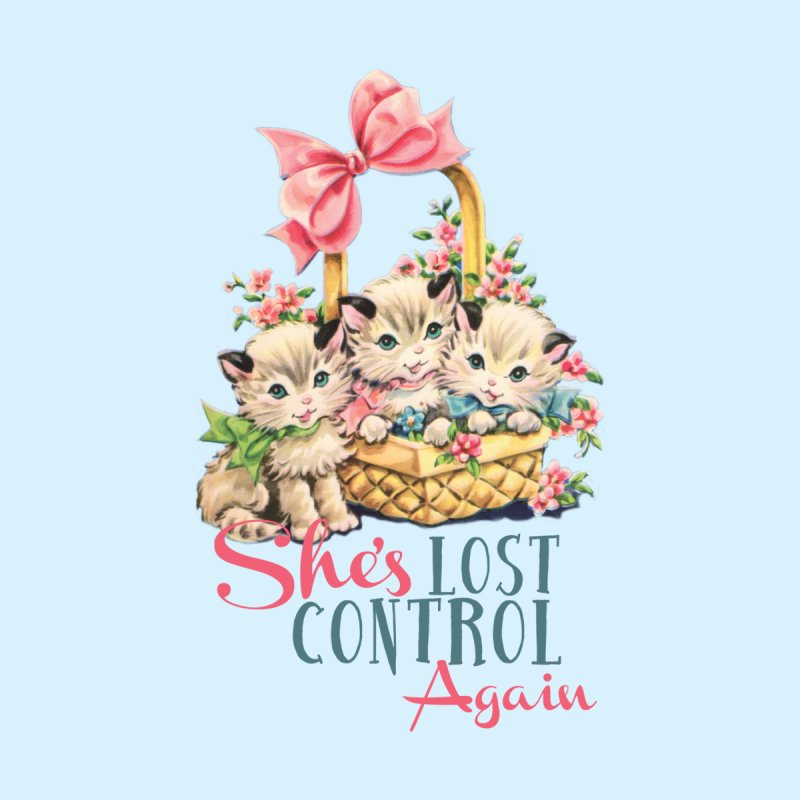 She's Lost Control Again Kids T-Shirt by Victory Screech Labs