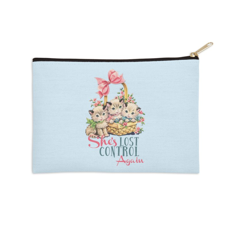 She's Lost Control Again Accessories Zip Pouch by Victory Screech Labs