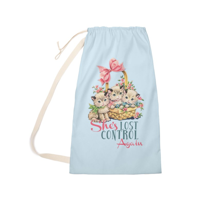 She's Lost Control Again Accessories Bag by Victory Screech Labs