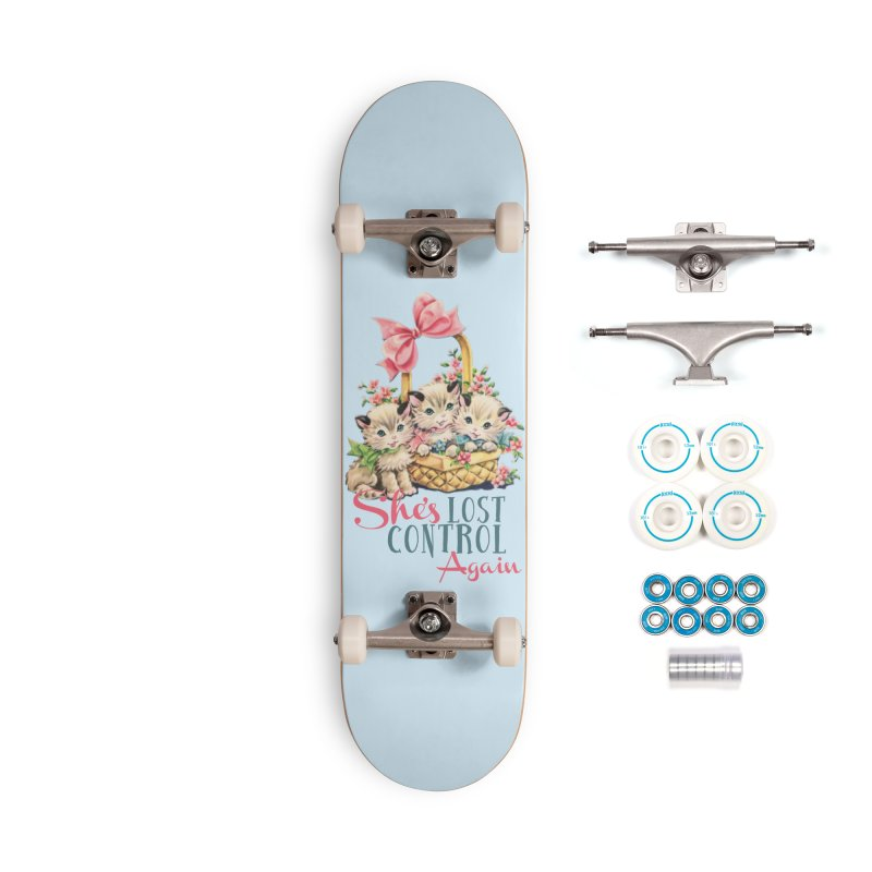 She's Lost Control Again Accessories Skateboard by Victory Screech Labs