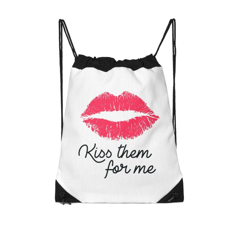 Kiss Them For Me Accessories Bag by Victory Screech Labs