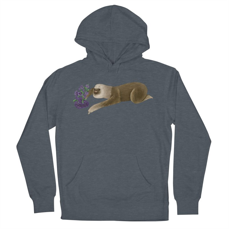Stop and Smell the Flowers Women's Pullover Hoody by Awezum Art Shop