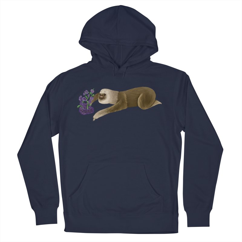 Stop and Smell the Flowers Men's Pullover Hoody by Awezum Art Shop