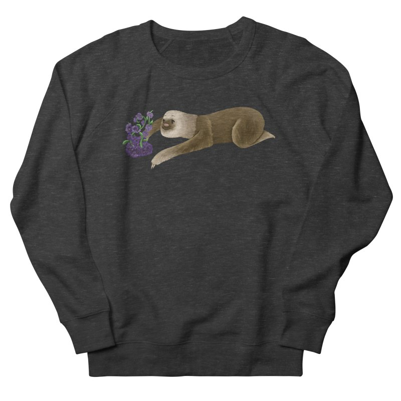 Stop and Smell the Flowers Men's Sweatshirt by Awezum Art Shop