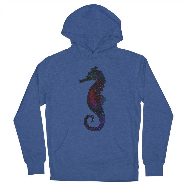 A Seahorse Universe Men's Pullover Hoody by Awezum Art Shop
