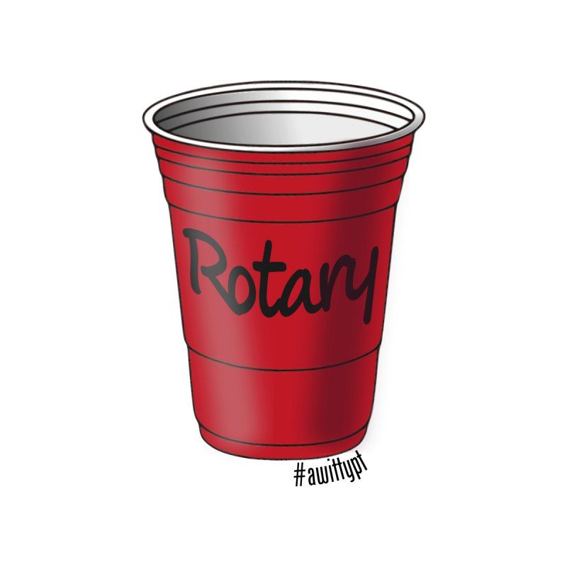 Rotary Cup AKA Rotator Cuff Men's T-Shirt by A WittyPT's Artist Shop