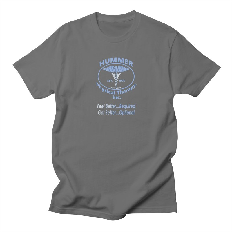 Hummer Physical Therapy (blue) Men's T-Shirt by A WittyPT's Artist Shop