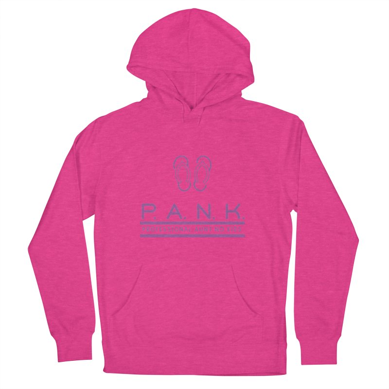 PANK Professional Aunt No Kids Purple Flip Flop Graphic T-Shirt Women's Pullover Hoody by Awkward Design Co. Artist Shop