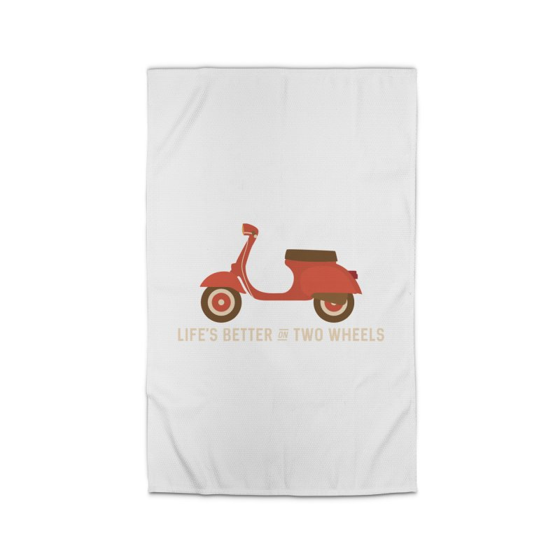 Life's Better on Two Wheels for Scooter Owners Home Rug by Awkward Design Co. Artist Shop