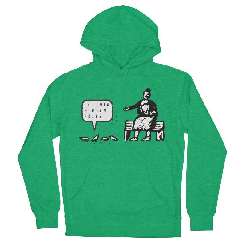 Is This Gluten Free Bird with Celiac Disease Men's Pullover Hoody by Awkward Design Co. Artist Shop