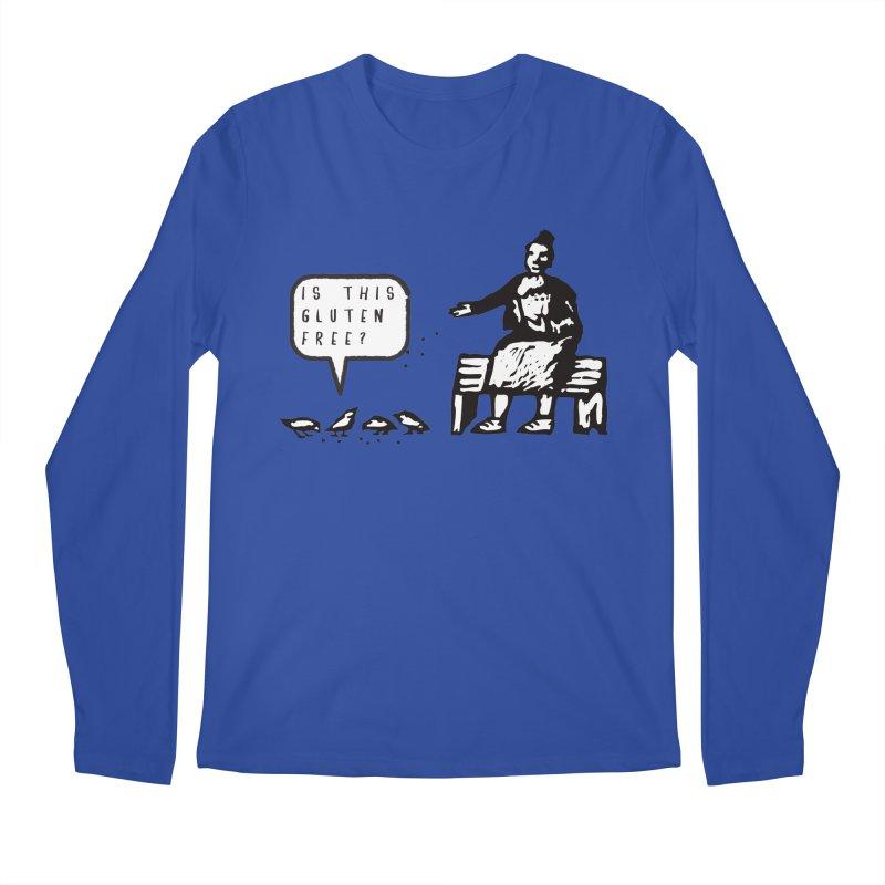 Is This Gluten Free Bird with Celiac Disease Men's Longsleeve T-Shirt by Awkward Design Co. Artist Shop