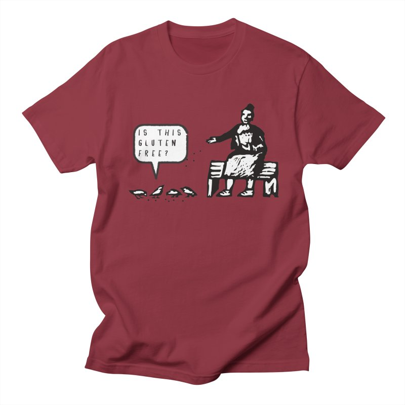 Is This Gluten Free Bird with Celiac Disease Men's T-shirt by Awkward Design Co. Artist Shop