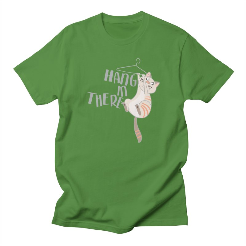 Hang In There Men's T-Shirt by Awkward Design Co. Artist Shop