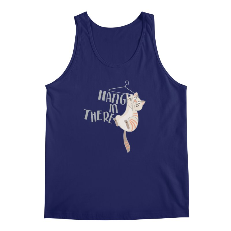 Hang In There Men's Tank by Awkward Design Co. Artist Shop