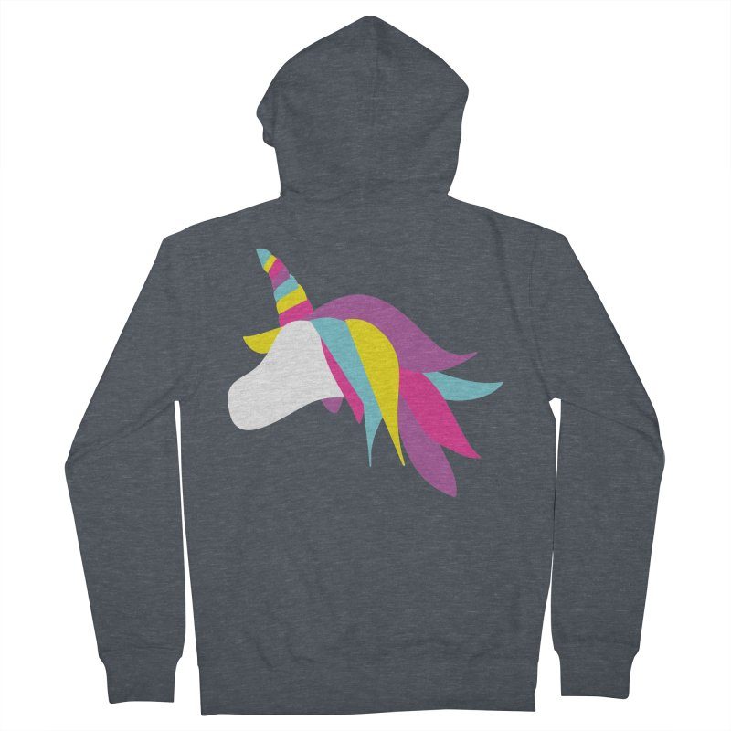A Unicorn of a Different Color Women's Zip-Up Hoody by Awkward Design Co. Artist Shop