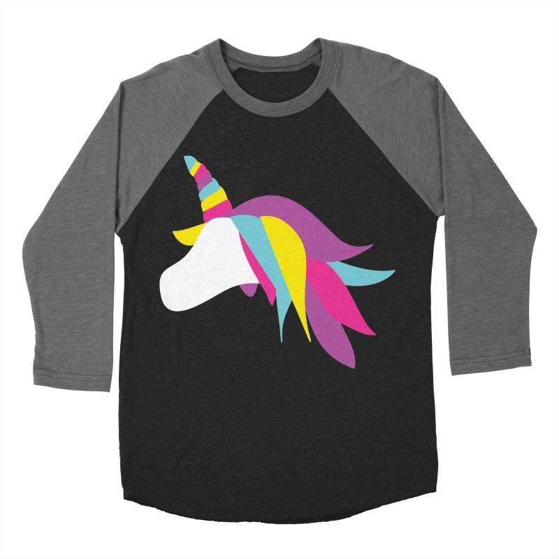 A Unicorn of a Different Color Women's Baseball Triblend T-Shirt by Awkward Design Co. Artist Shop