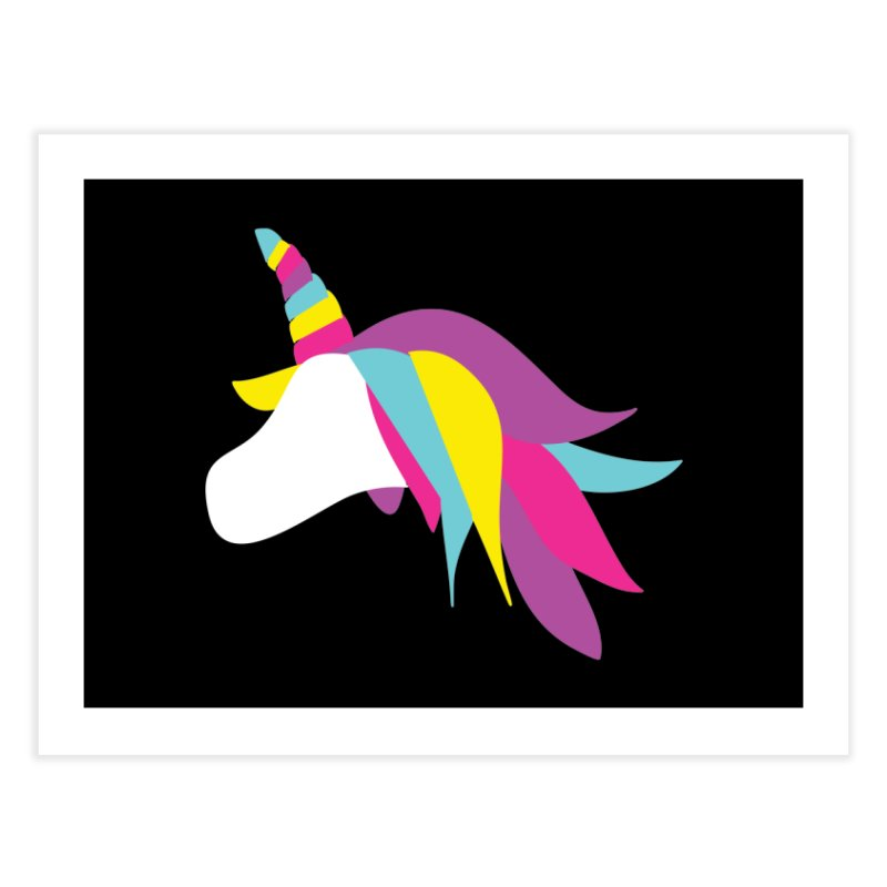 A Unicorn of a Different Color Home Fine Art Print by Awkward Design Co. Artist Shop