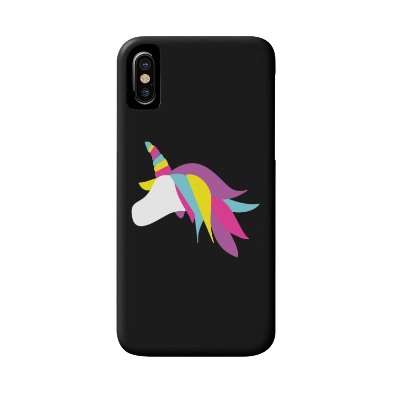 A Unicorn of a Different Color Accessories Phone Case by Awkward Design Co. Artist Shop