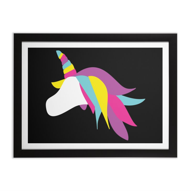A Unicorn of a Different Color Home Framed Fine Art Print by Awkward Design Co. Artist Shop
