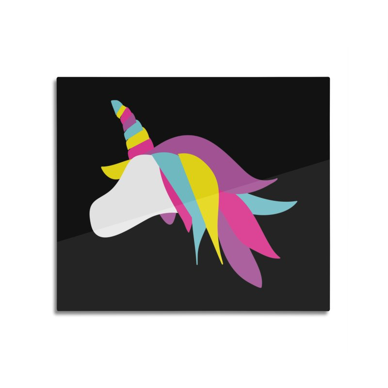 A Unicorn of a Different Color Home Mounted Acrylic Print by Awkward Design Co. Artist Shop