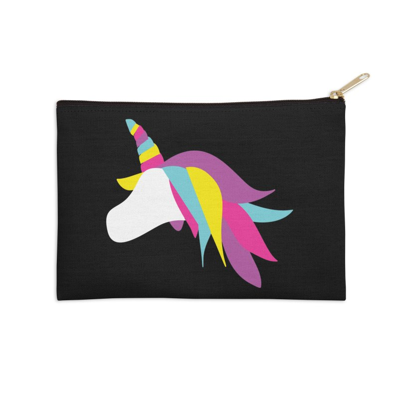 A Unicorn of a Different Color Accessories Zip Pouch by Awkward Design Co. Artist Shop