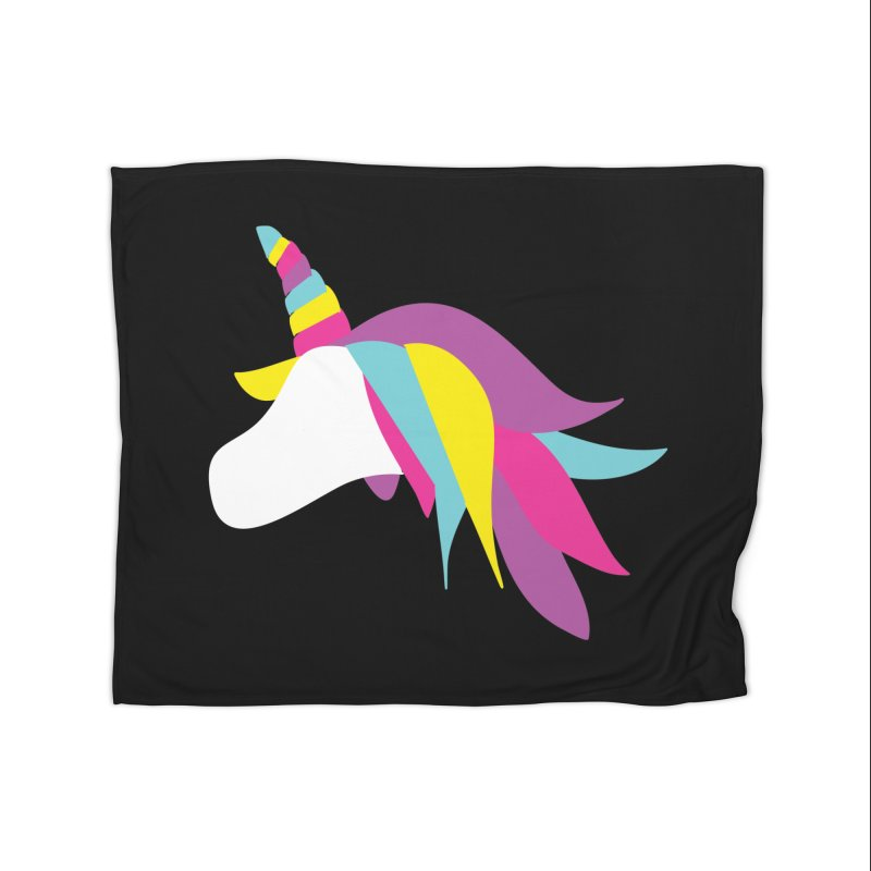 A Unicorn of a Different Color Home Blanket by Awkward Design Co. Artist Shop