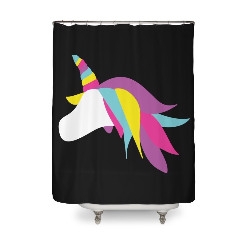 A Unicorn of a Different Color Home Shower Curtain by Awkward Design Co. Artist Shop