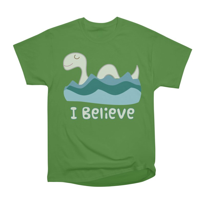 I Believe in Lake Monsters Women's Classic Unisex T-Shirt by Awkward Design Co. Artist Shop