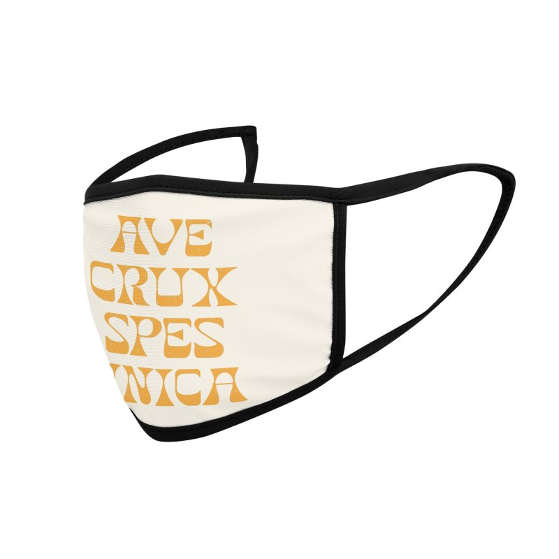 Ave Crux Spes Unica Accessories Face Mask by A Worthy Manner Goods & Clothing