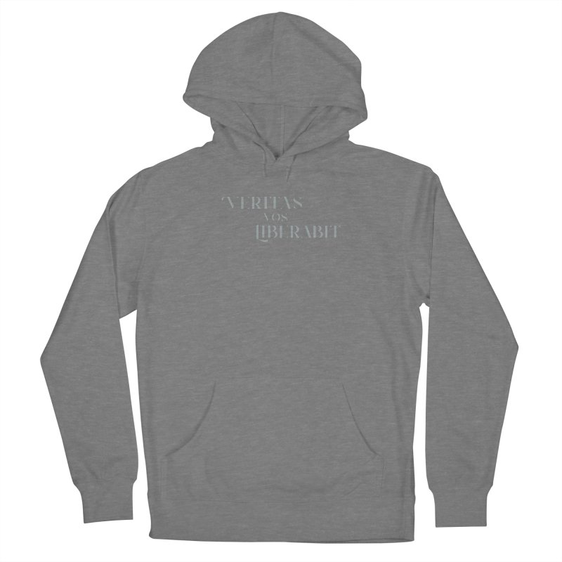 Veritas vos liberabit - The truth shall set you free (John 8:32) Women's Pullover Hoody by A Worthy Manner Goods & Clothing