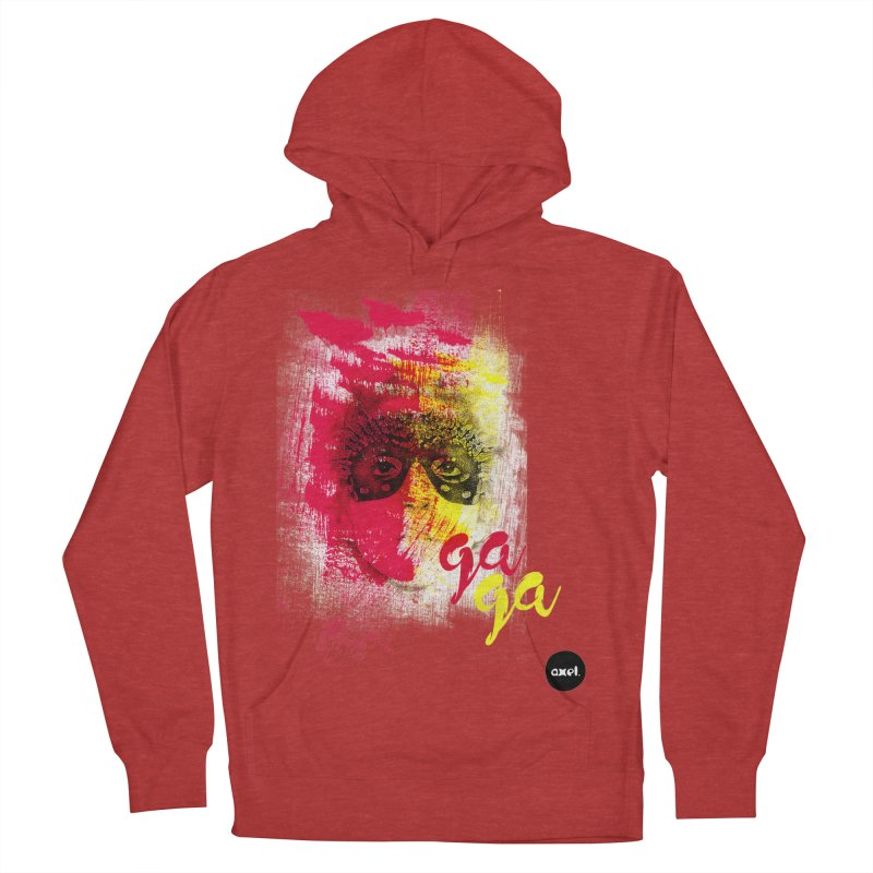 Gaga goes color Women's Pullover Hoody by axelsavvides's Artist Shop