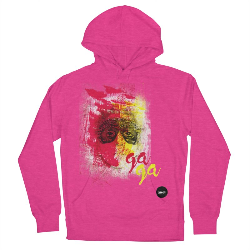 Gaga goes color Men's Pullover Hoody by axelsavvides's Artist Shop