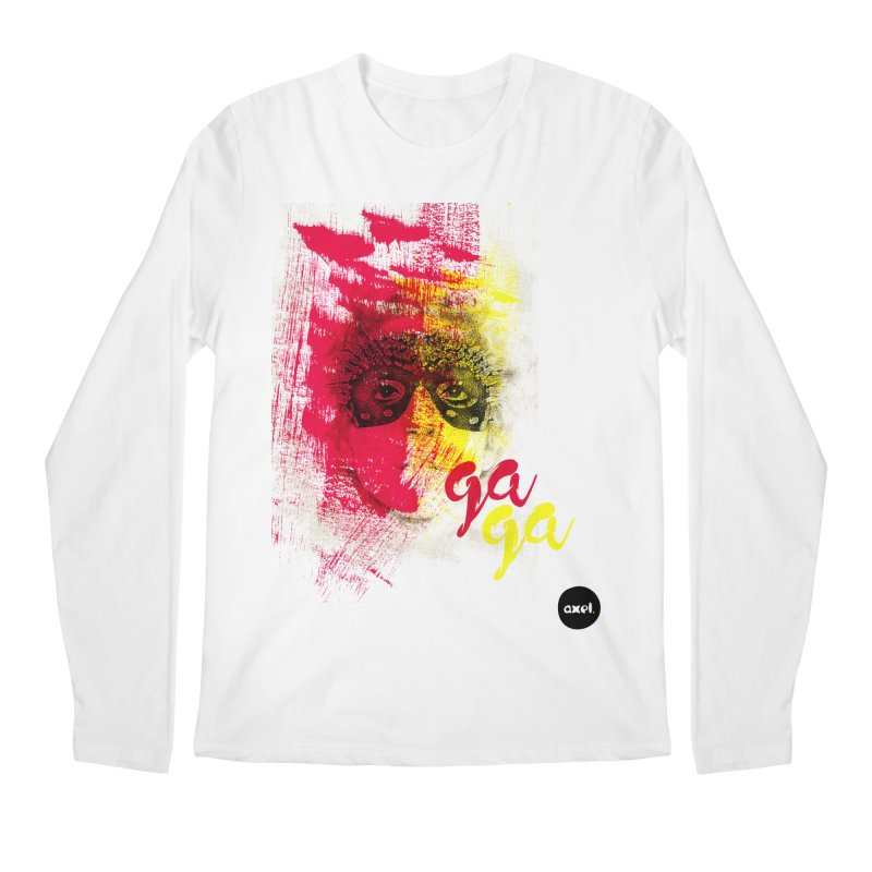 Gaga goes color Men's Longsleeve T-Shirt by axelsavvides's Artist Shop