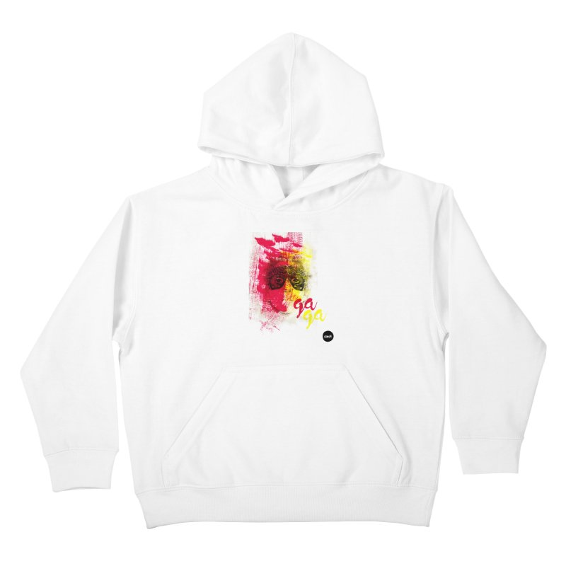 Gaga goes color Kids Pullover Hoody by axelsavvides's Artist Shop