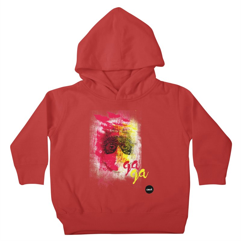 Gaga goes color Kids Toddler Pullover Hoody by axelsavvides's Artist Shop