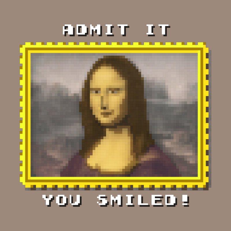 Mini Mona PixelArt by AXmediaLLC