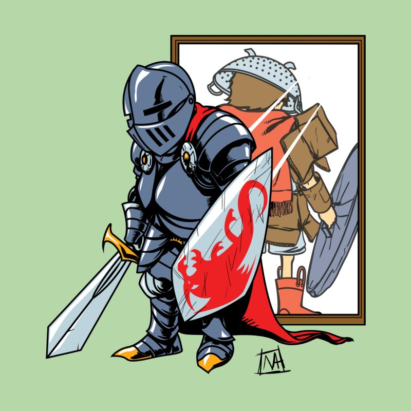 lil Knight   by Michael Axt's Artist Shop