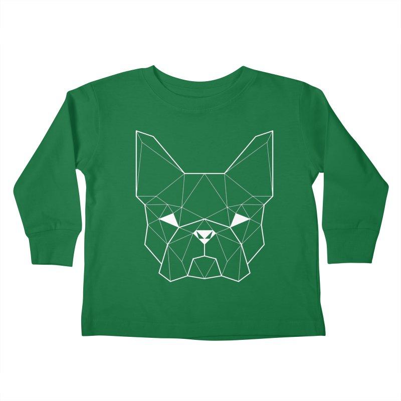 French Geometry Kids Toddler Longsleeve T-Shirt by ayarti's Artist Shop