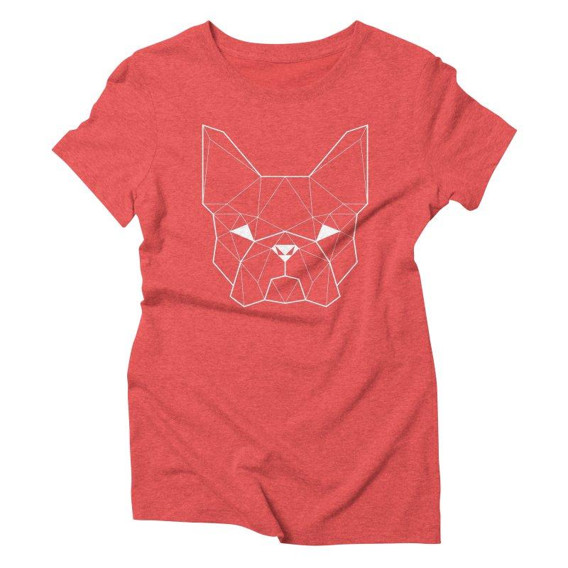 French Geometry Women's Triblend T-shirt by ayarti's Artist Shop