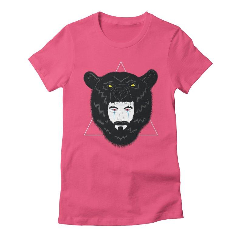 Elder Women's Fitted T-Shirt by ayarti's Artist Shop