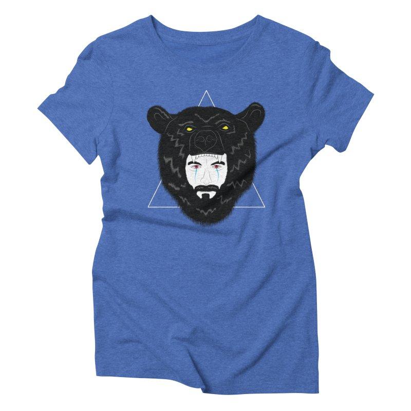 Elder Women's Triblend T-Shirt by ayarti's Artist Shop