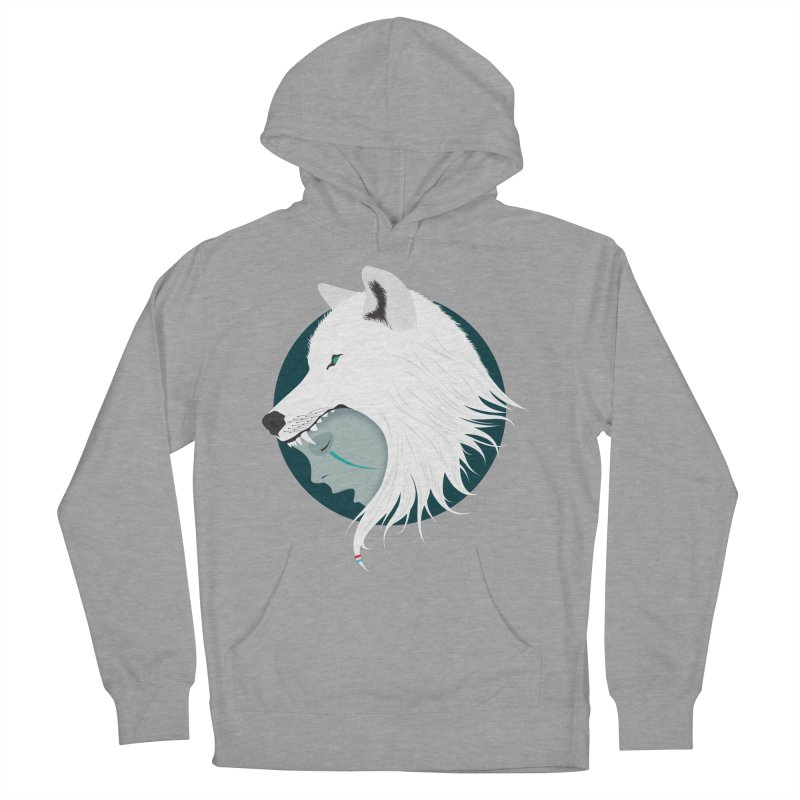 Boy Cries Wolf Women's Pullover Hoody by ayarti's Artist Shop