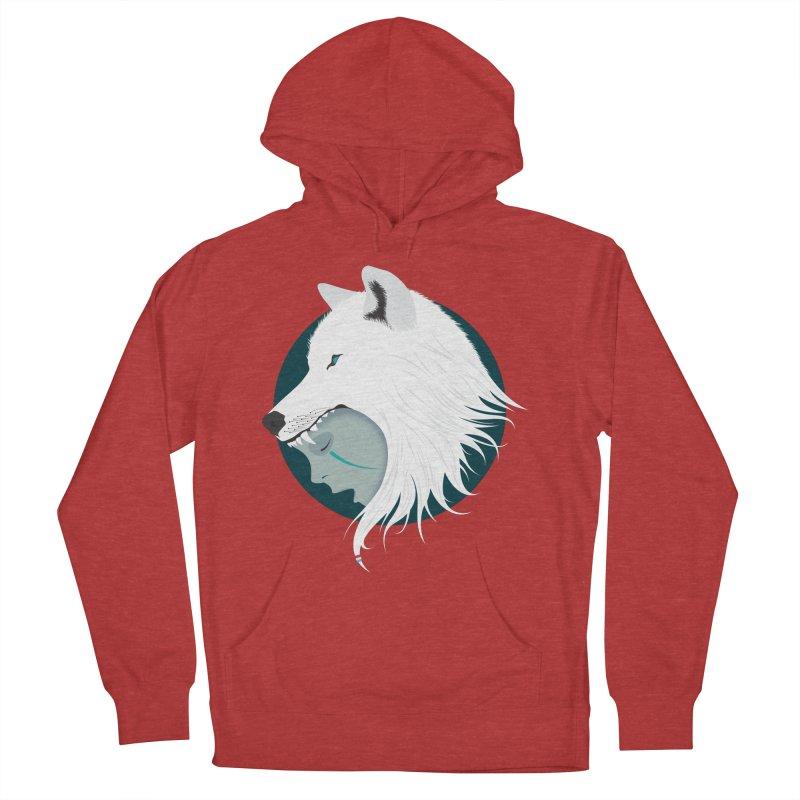 Boy Cries Wolf Women's Pullover Hoody by ayarti's Artist Shop