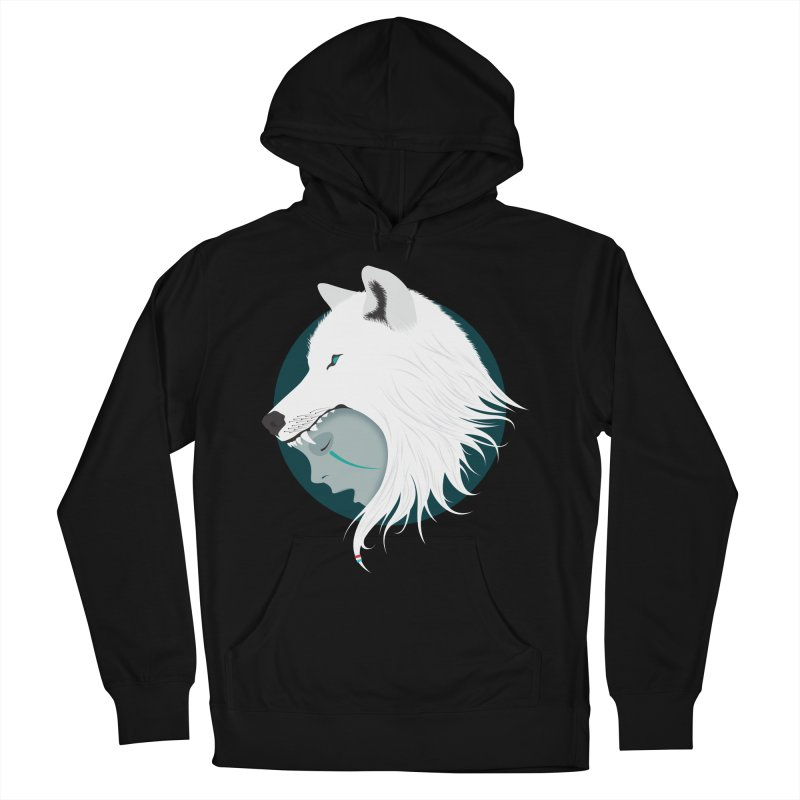 Boy Cries Wolf Men's Pullover Hoody by ayarti's Artist Shop