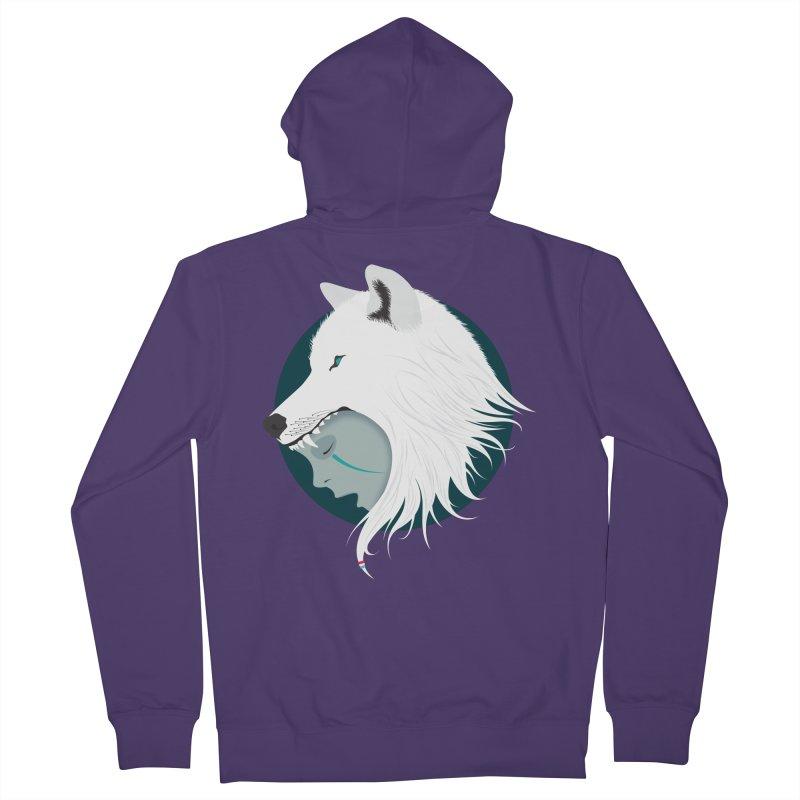 Boy Cries Wolf Women's Zip-Up Hoody by ayarti's Artist Shop