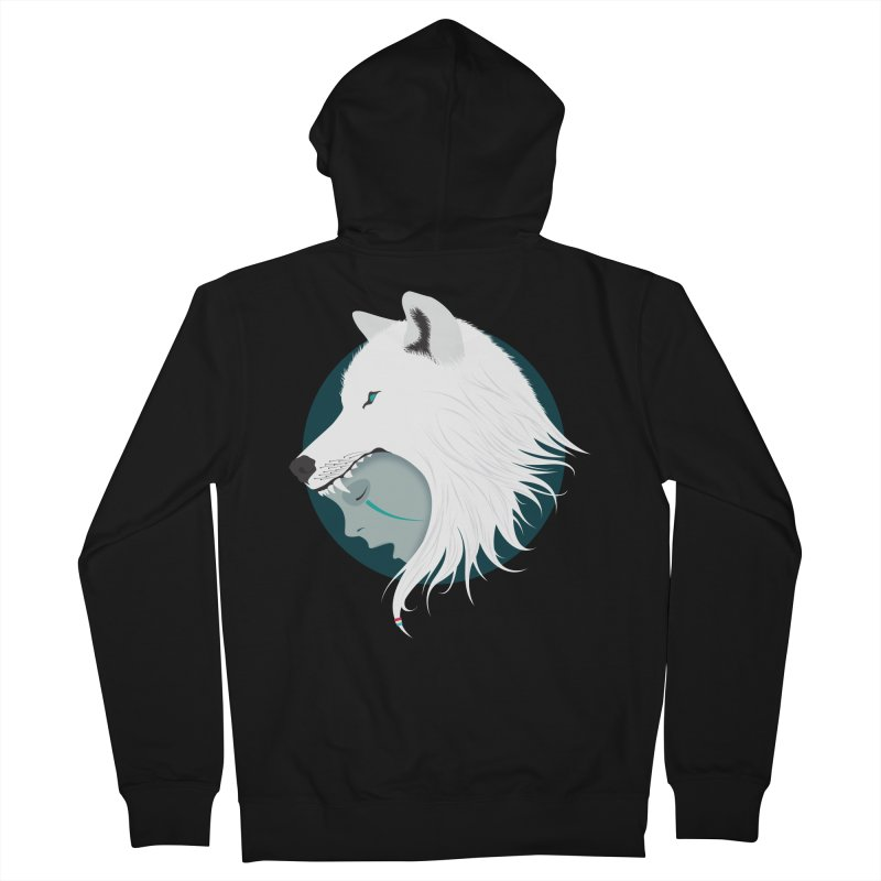 Boy Cries Wolf Men's Zip-Up Hoody by ayarti's Artist Shop