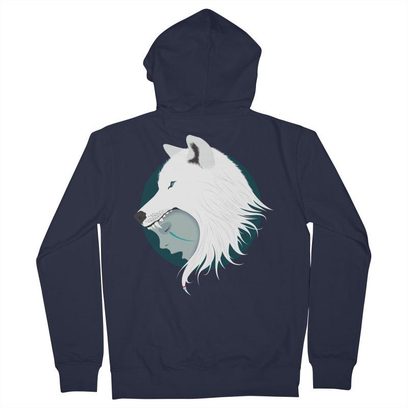 Boy Cries Wolf Men's Zip-Up Hoody by ayarti's Artist Shop