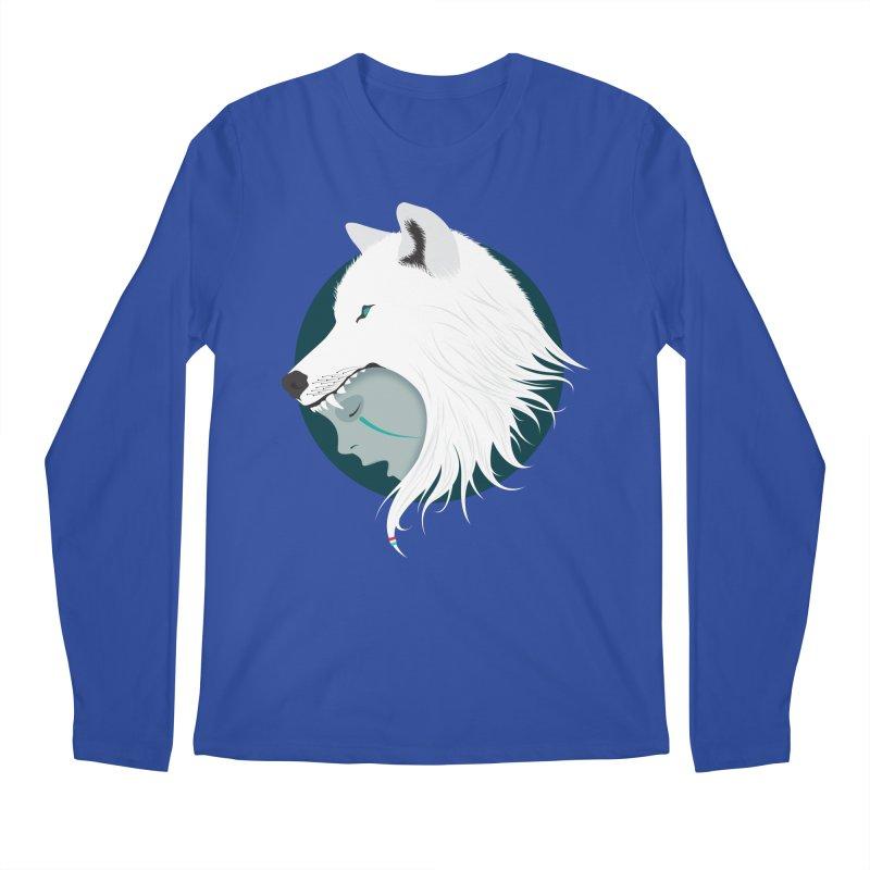 Boy Cries Wolf Men's Longsleeve T-Shirt by ayarti's Artist Shop